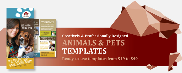 Professional Animals and Pets Templates
