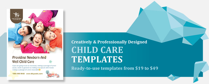 Professional Child Care Templates