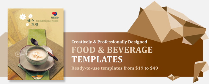 Professional Food and Beverage Templates