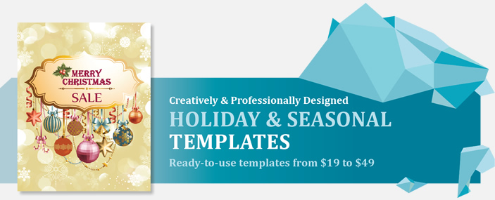 Professional Holiday and Seasonal Templates