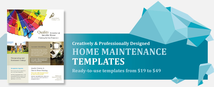 Professional Home Maintenance Templates