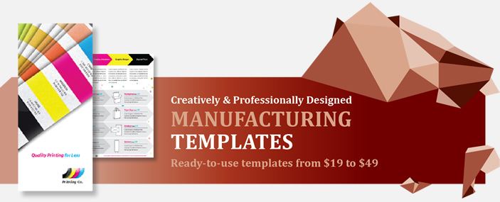 Professional Manufacturing Templates