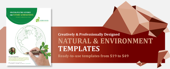Professional Natural and Environment Templates
