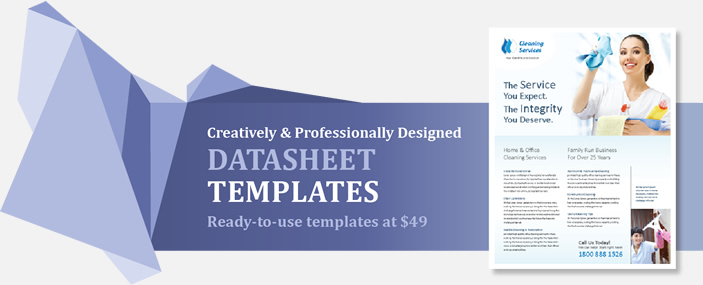 Professional Datasheets Templates