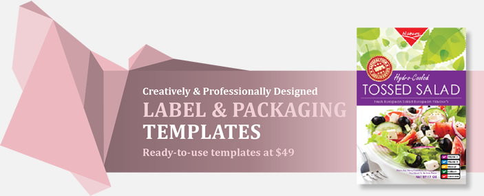 Professional Labels and Packaging Templates