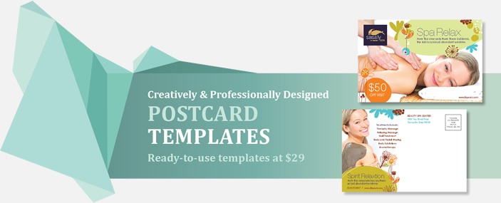 Professional Postcards Templates