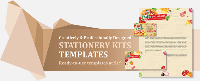 Professional Stationery Kits Templates