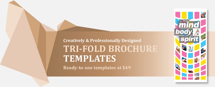 Professional Tri-Fold Brochures Templates