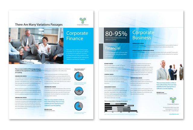 Corporate Finance Datasheet Template
