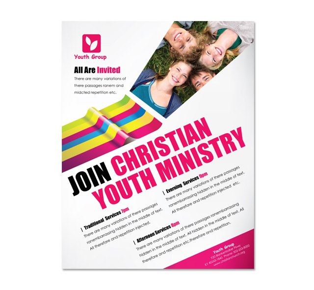youth flyers templates