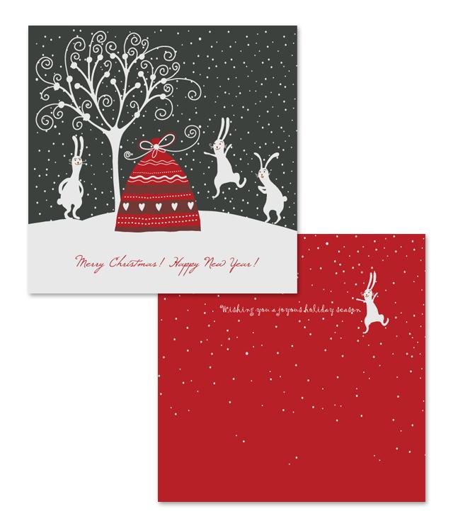 Holiday Seasons Greeting Card Template
