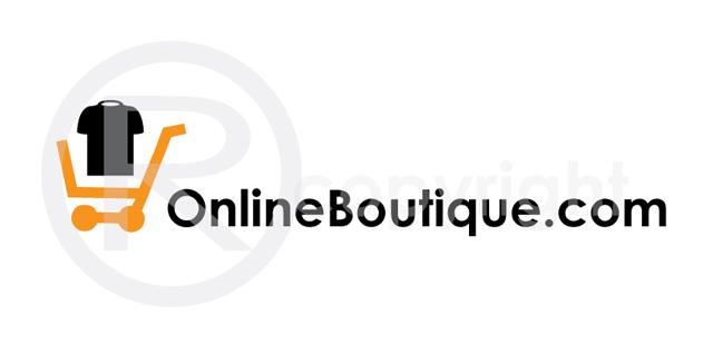 Online Boutique Logo Template
