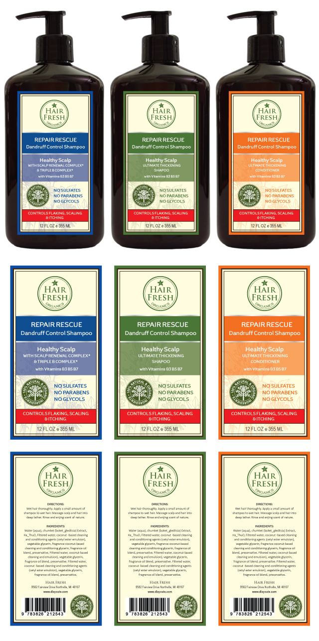 Herbal Hair Shampoo Amp Conditioner Label Template