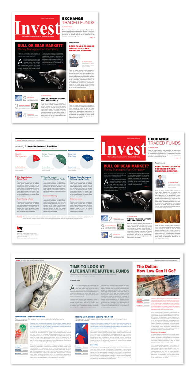 Investment Bank Newsletter Template
