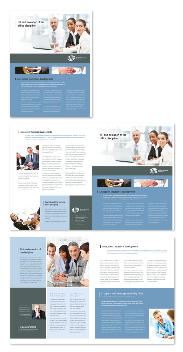 HR Management Newsletter Template