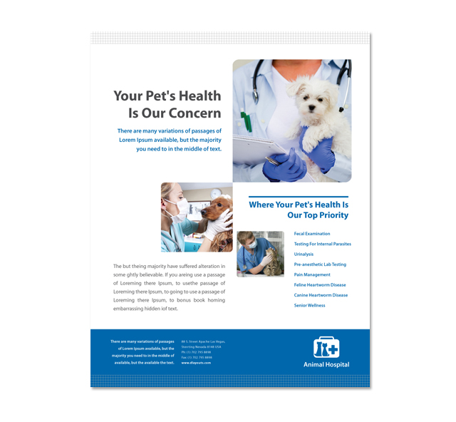 Veterinarians Poster Template