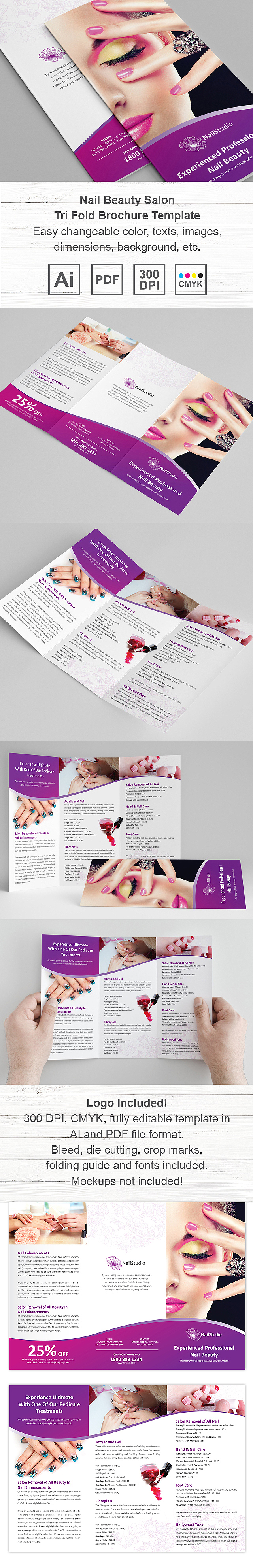 Salon Brochure. Creactive Hari Salon Brochure 25+ Salon Brochure