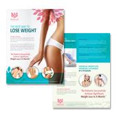 weight loss center flyer template