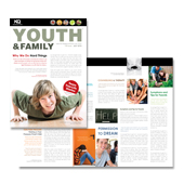 Church Ministry Youth Group Newsletter Template